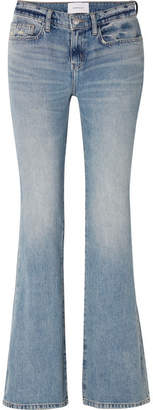Current/Elliott The Jarvis Mid-rise Flared Jeans