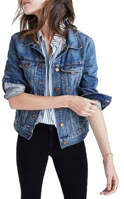 Women's Madewell Cotton Denim Jacket $118 thestylecure.com