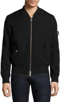 Ami Zipped Teddy Jacket