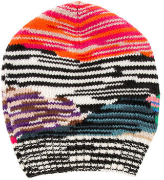 Missoni Missoni Multicolor Wool Beanie w/ Tags