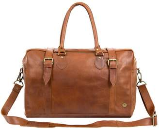 MAHI Leather - The Eckhart Leather Holdall In Vintage Brown