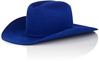 Calvin Klein Women's Fur-Felt Cowboy Hat - Blue