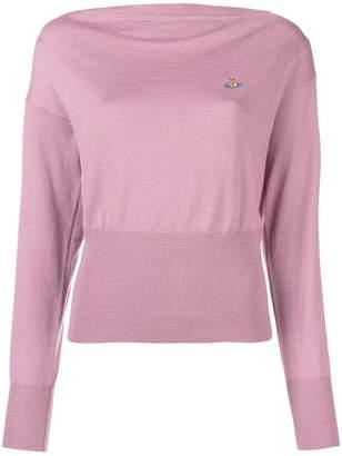 Vivienne Westwood slash neck sweater