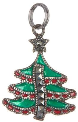 Judith Jack Antique Sterling Silver Marcasite Tree Charm