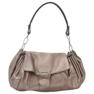 Marni Metallic Leather Handbag