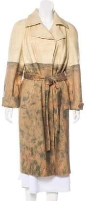 Akris Printed Wool Coat w/ Tags
