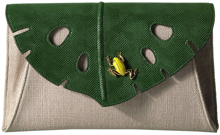 Charlotte Olympia Charlotte Olympia - Monstera Clutch Clutch Handbags