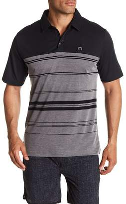 Travis Mathew Jordy Striped Polo