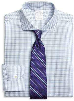Brooks Brothers Regent Fitted Dress Shirt, Triple Check