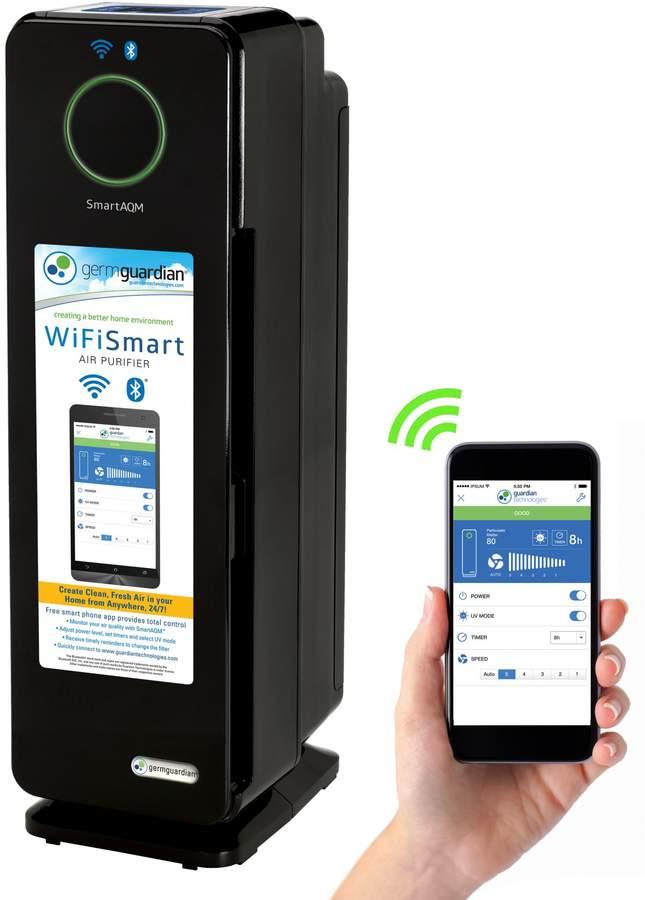 GermGuardian Wi-Fi Smart Elite Air Purifier in Black