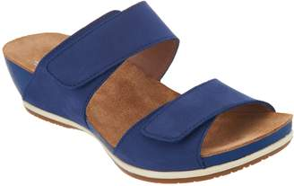 Dansko Leather Adjustable Two Strap Sandals- Vienna