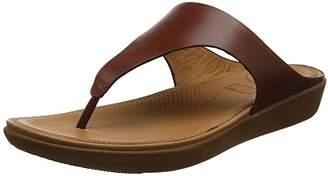 c3b34332bf92a4 FitFlop Women s Banda II Thong Leather Open Toe Sandals