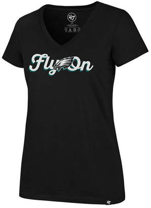 '47 Women's Philadelphia Eagles Local Graphic T-Shirt