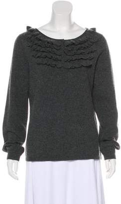 Magaschoni Cashmere Long Sleeve Sweater