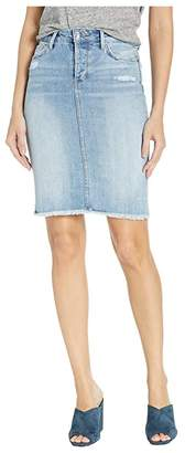 Sam Edelman Riley Denim Skirt in Louie