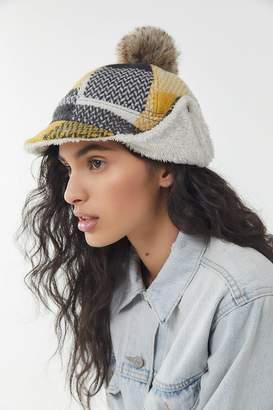 Urban Outfitters Flannel Deerstalker Hat