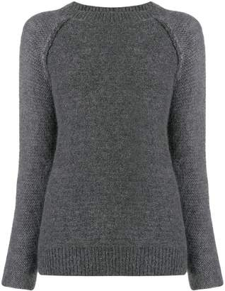 Eleventy panel knitted sweater
