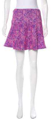 Opening Ceremony Jacquard A-Line Mini Skirt