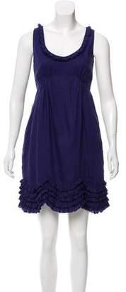 Calypso Sleeveless Linen Mini Dress