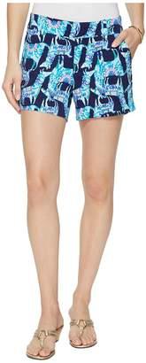 Lilly Pulitzer Callahan Stretch Sateen Shorts Women's Shorts