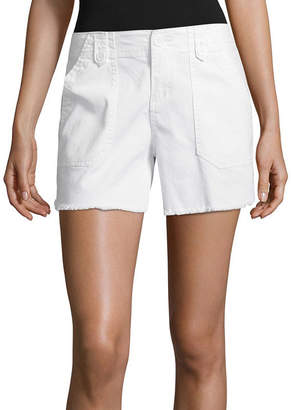 UNIONBAY SUPPLIES BY Supplies By Careen Fray Hem Shorts