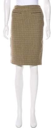 RED Valentino Wool Knee-Length Skirt