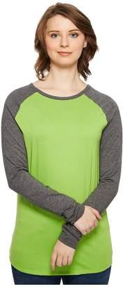4Ward Clothing Long Sleeve Raglan Shirt - Reversible Front/Back Girl's Clothing
