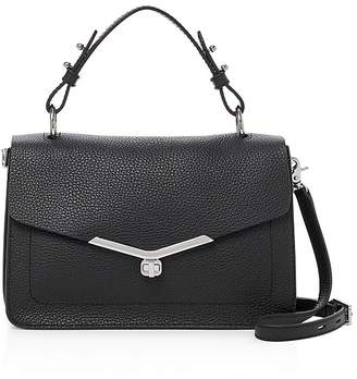 Botkier Vivi Pebbled-Leather Satchel