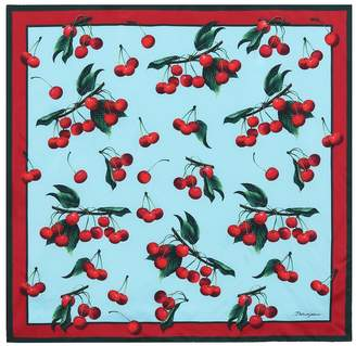 Dolce & Gabbana Exclusive to Mytheresa cherry printed silk scarf