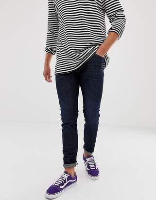 Wrangler bryson skinny fit jeans in dry resin dark wash