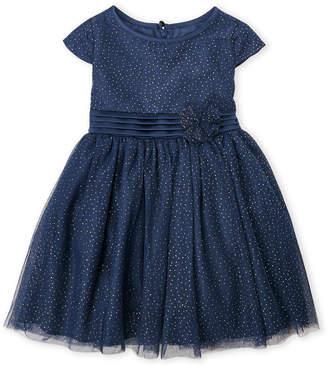 Little Angels (Toddler Girls) Sparkle Dot Tulle Dress