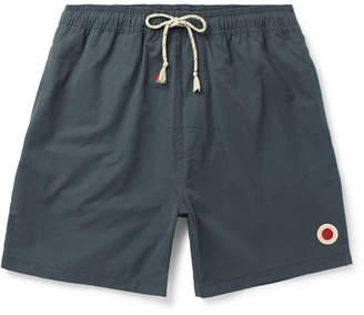 Mollusk Long-Length Cotton-Blend Swim Shorts