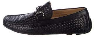 Magnanni Woven Leather Driving Loafers w/ Tags