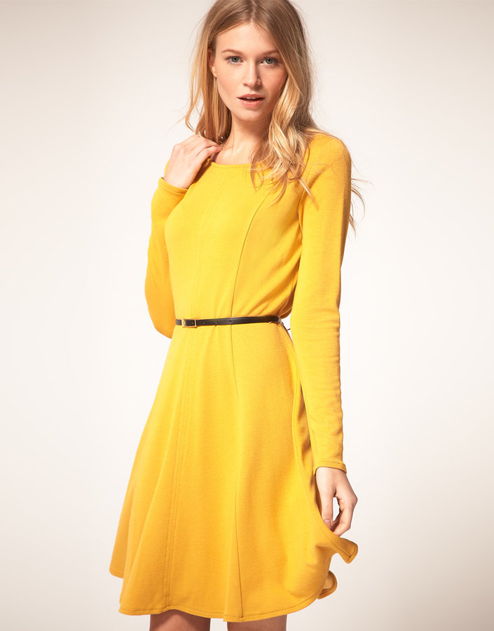Oasis Fit N Flare Dress Exclusive To Asos