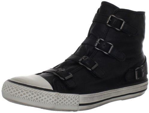 Ash Women's Virgin Fashion Sneaker,Black,40 EU/10 M US