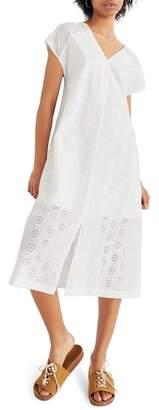 Madewell Eyelet Midi Dress