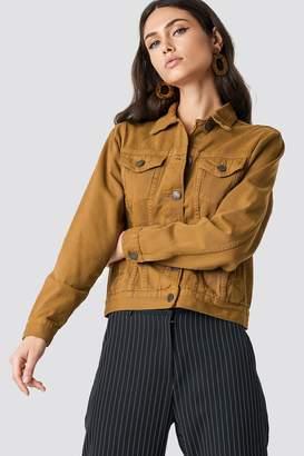 Lasula Oversized Denim Jacket Black