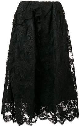 Simone Rocha full lace skirt