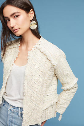 Love Sam Violette Lace Embroidered Jacket $425 thestylecure.com