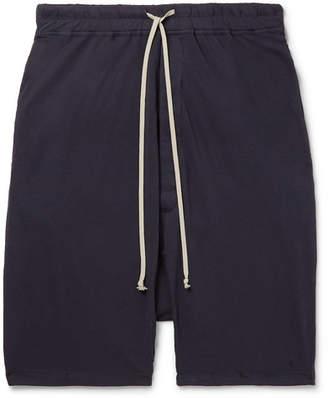 Rick Owens Pod Cotton-Jersey Drawstring Shorts