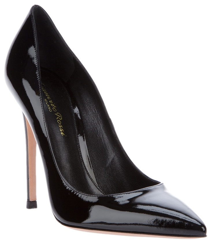 Gianvito Rossi Patent stiletto