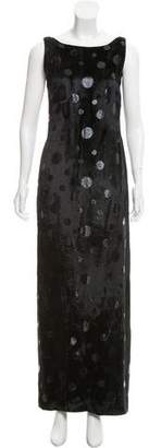 Akris Sleeveless Velvet Dress