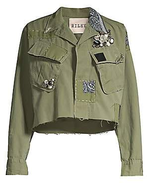 Riley Women's Queen Of The Jungle Crop Jacket
