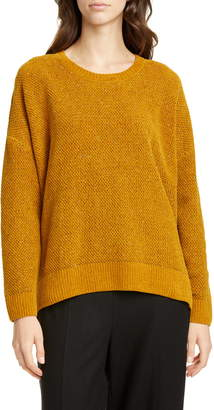 Eileen Fisher Crewneck Organic Cotton Sweater
