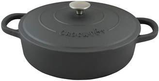 Asstd National Brand Crock Pot Artisan 5 Quart Preseasoned Cast Iron Round Braiser Pan with Self Basting Lid