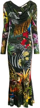 Roberto Cavalli Paradise Found long dress