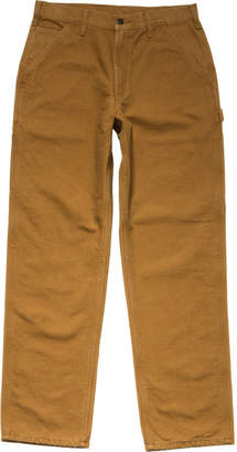 Carhartt Washed-Duck Work Dungaree Flannel-Lined Pant - Men's