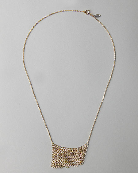 Wouters & Hendrix / Mesh Ring Necklace