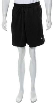 Alexander Wang x Adidas Logo Drawstring Shorts