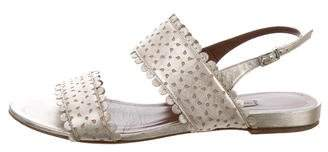 Tabitha Simmons Laser Cut Slingback Sandals